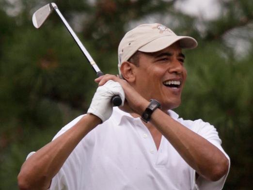 ObamaGolf