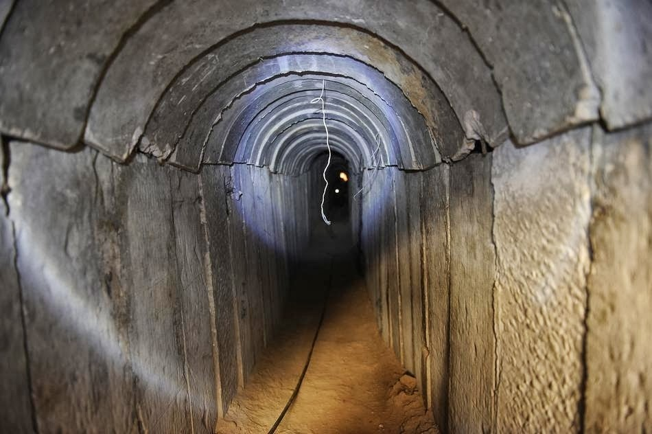 Islamonazi Hamas tunnel