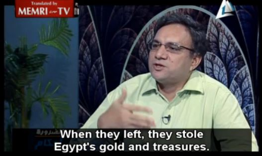 jews stole egyptian gold memri