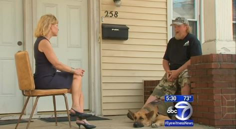 service dog and owner discriminated by muslim