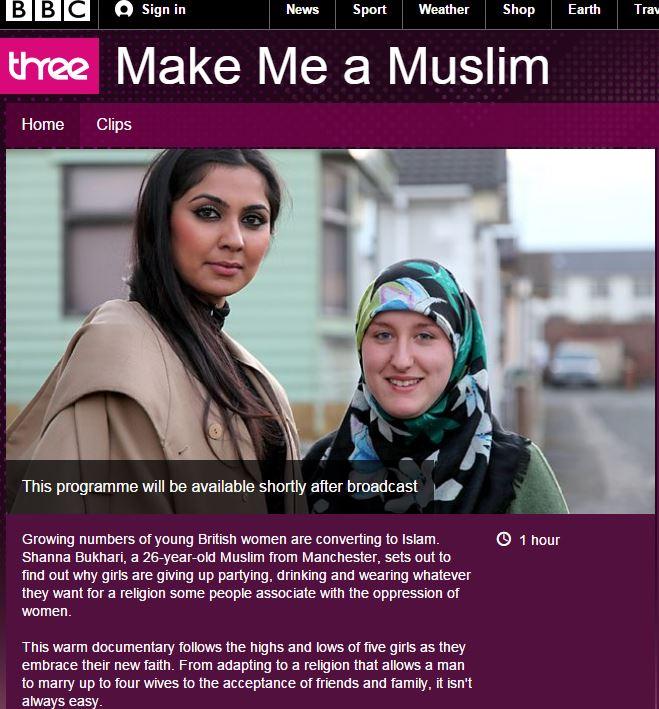 bbc pro-islamonazi claptrap 30.10.2014
