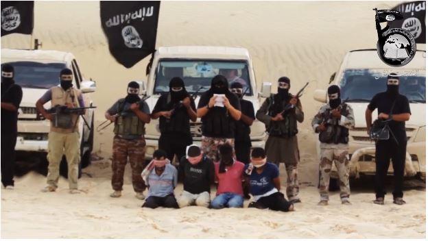 sinai is jihadis behead captives 8.10.2014