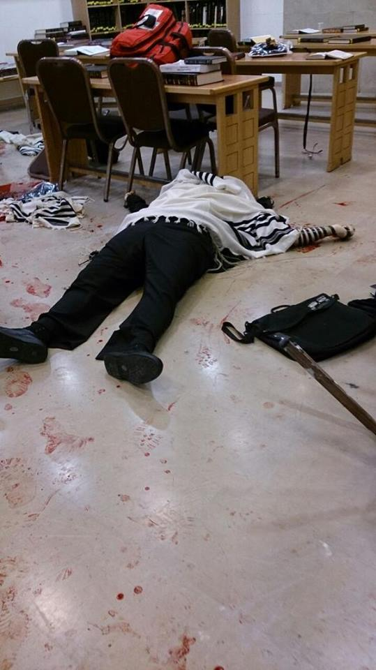 Jews killed in synagogue 18.11.2014