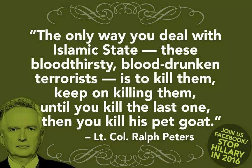 LT.COL RALPH PETERS