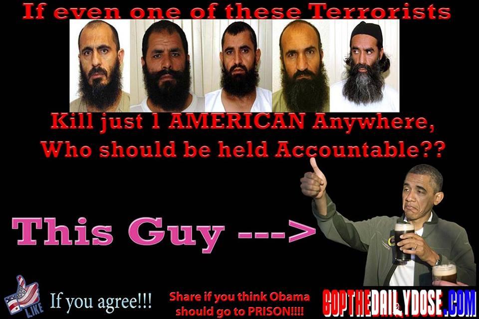obama and his release of jihadis