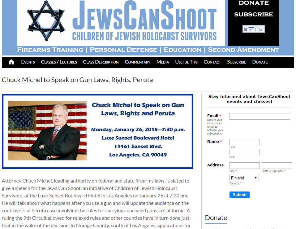 JEWS CAN SHOOT 26.1.2014