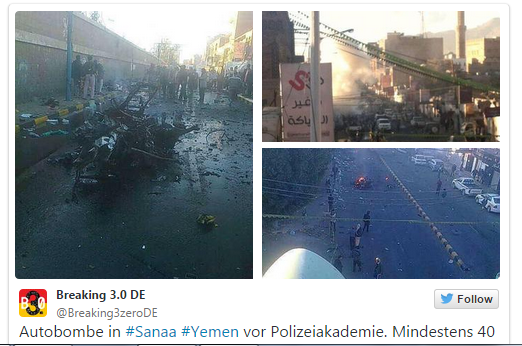 YEMEN SUICIDE BOMB ATTACK 7.1.2015