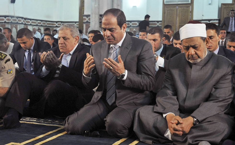 al-sisi and mufti
