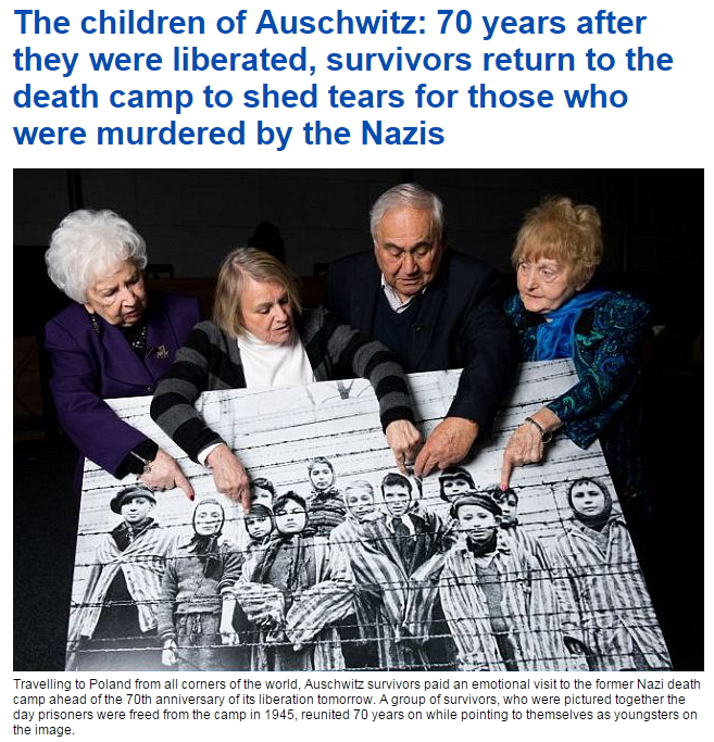 holocaust survivors 27.1.2015