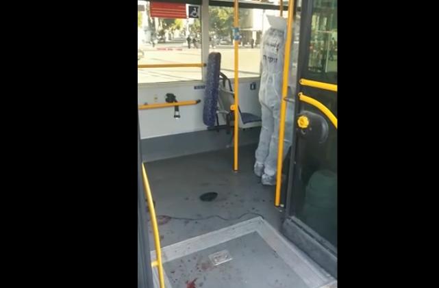 israel nine jews stabbed on tel aviv bus