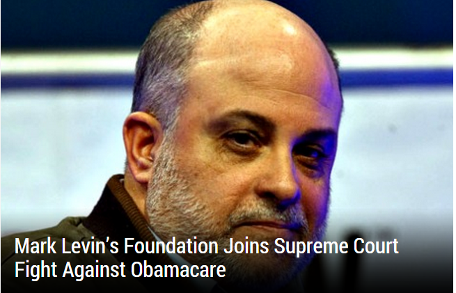 mark levin lawsuit obamacare
