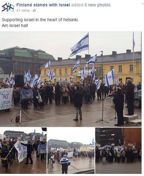 RALLY ISRAEL HELSINKI 1.3.2015