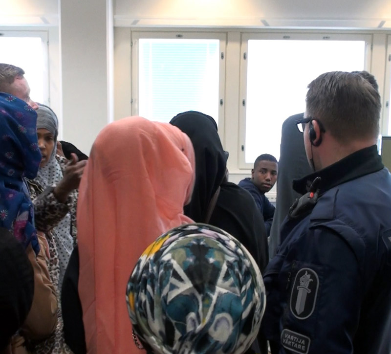 Somali rapist finland in court pics 15.3.2015d