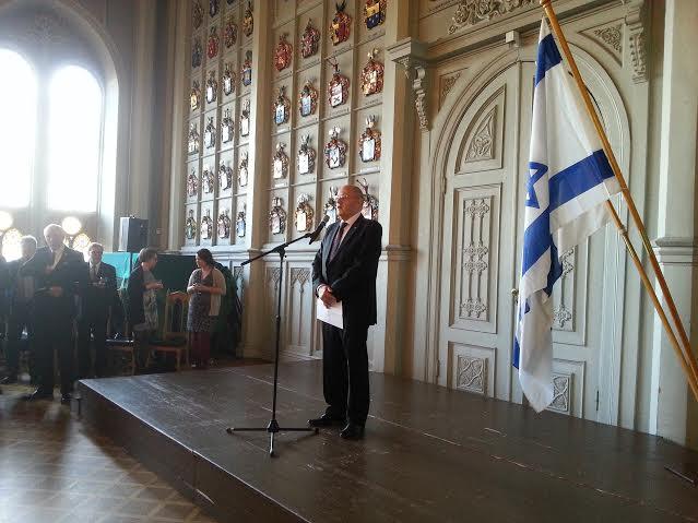 Israeli Ambassador Dan Ashbel 2015 Israeli Independence Day