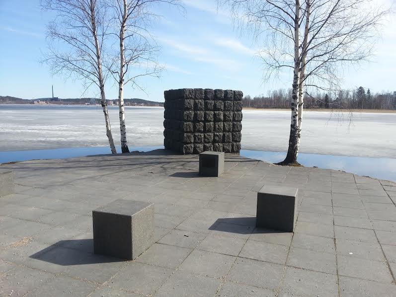 kaaba on Jyväs-lake