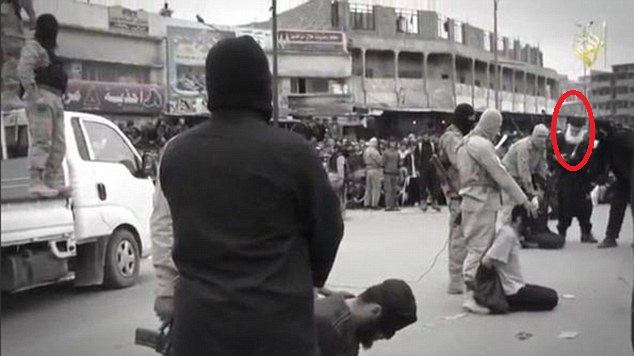 white beard in mosul beheading