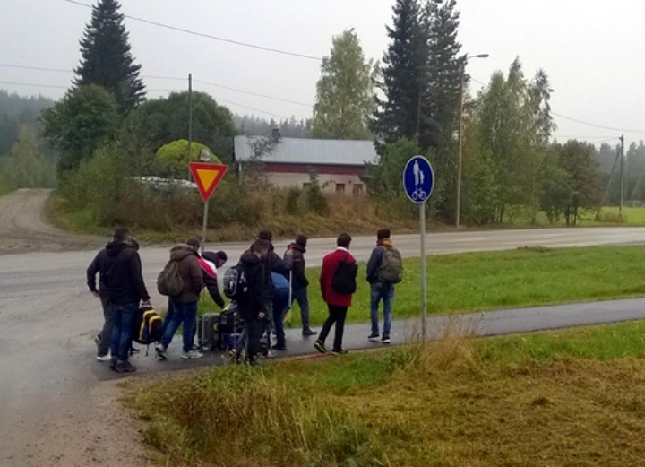 Suolahti fake refugees