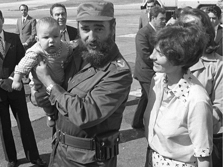 justin trudeau and fidel