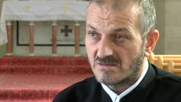 syrian priest isis captive