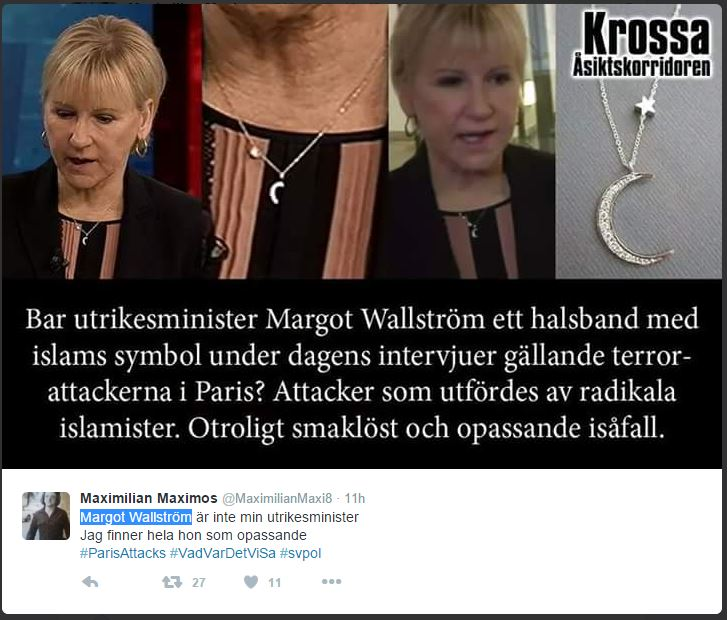 Margot Wallström WEARS symbol of islam2