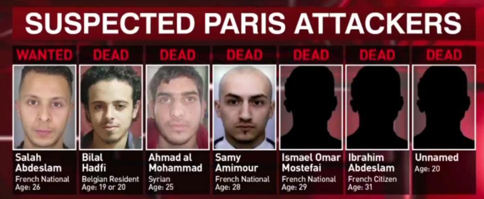 paris massacre jihadis