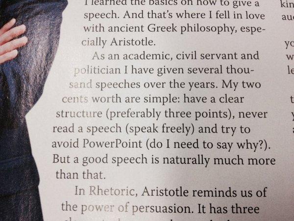 stubb speech