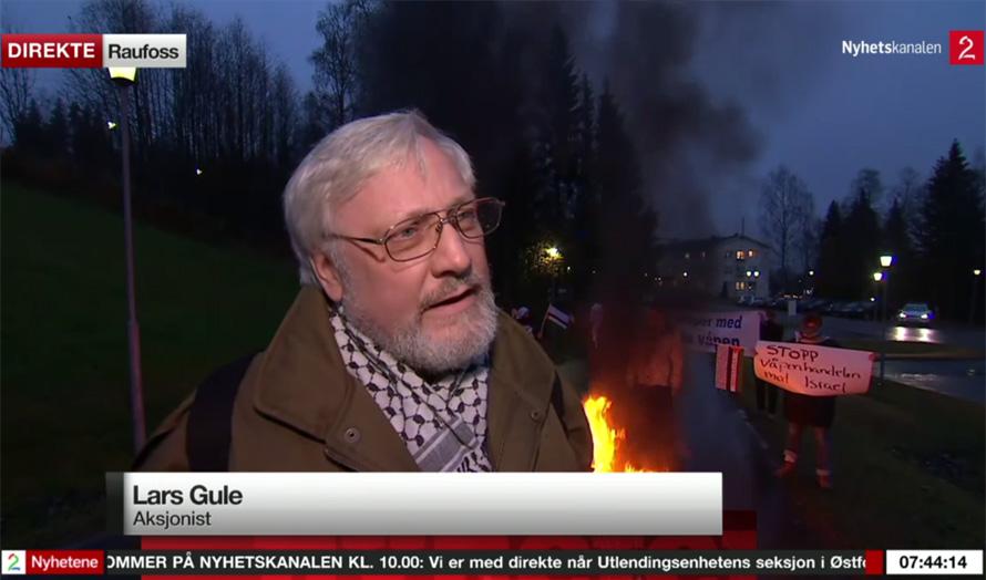 Lars-Gules-mini-intifada-skjermdump-tv2-nyhetskanalen