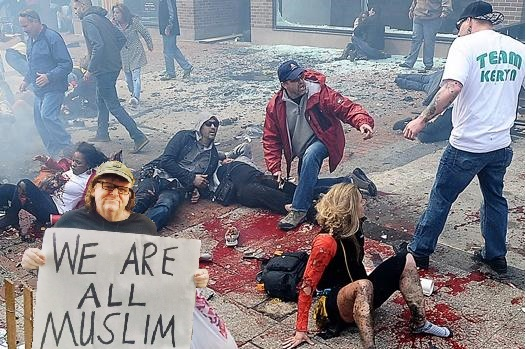 Michael Moore buffonery we all are muslims