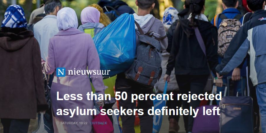 netherlands missing rejected asylum seekers