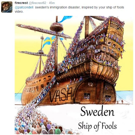 sweden ship of fools