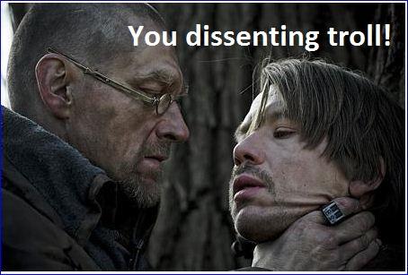 dissenting troll