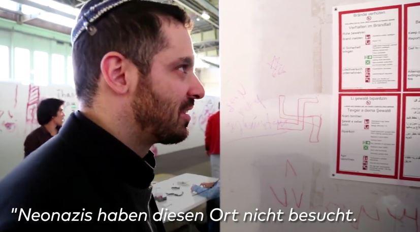 israeli in german asylum center