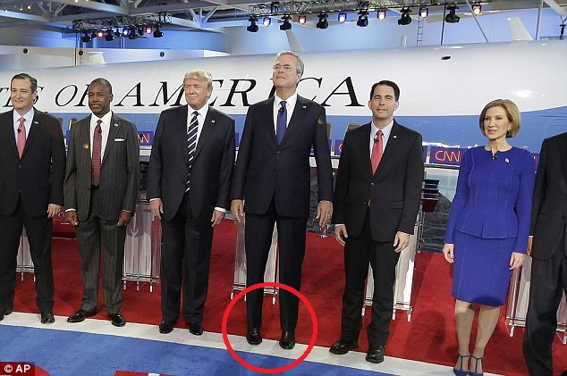 BUSH PUSH AGAINST RUBIO: NO HEIGHT ISSUE WITH ME, BUT I'LL MAKE AN ...