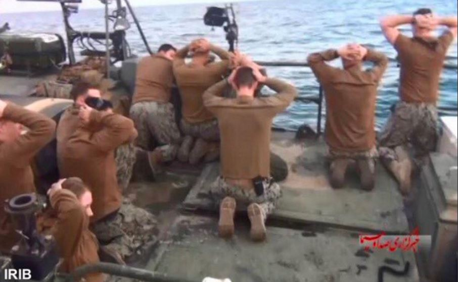 us capture by iran