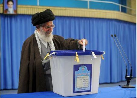 iran paper drop