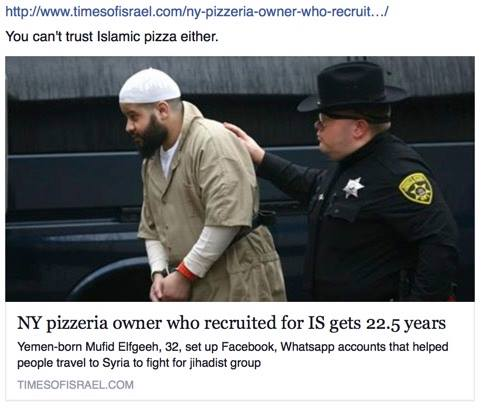 TARD PIZZA OWNER ARRESTED