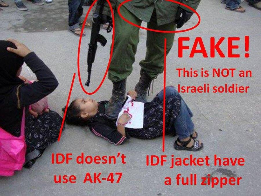 fake idf pic