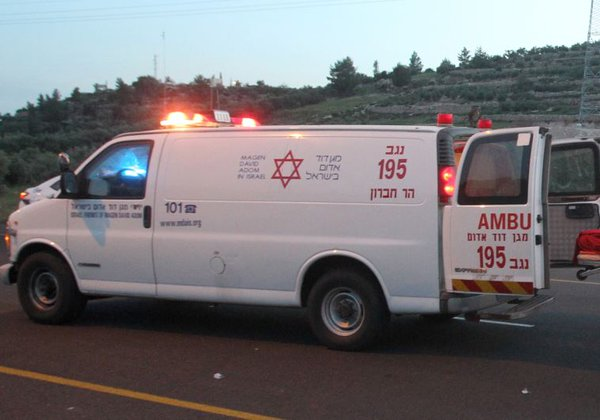 israel ambulance