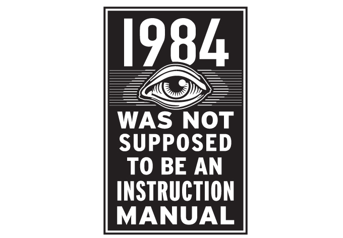 1984 not an instruction manual