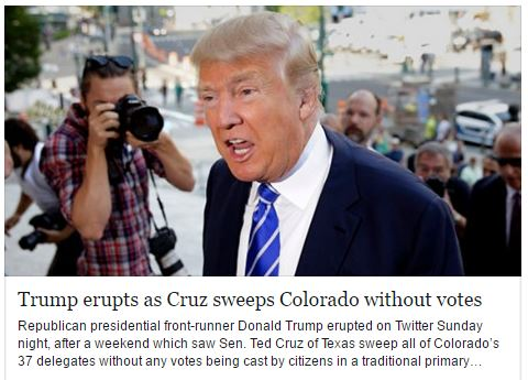 TRUMP WHINE OF COLORADO