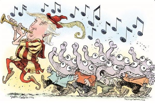 trumperdink and his lemmings