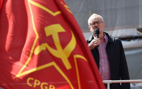 corbyn commie