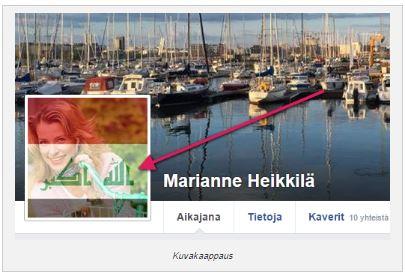 Marianne Heikkilä allahu akbar