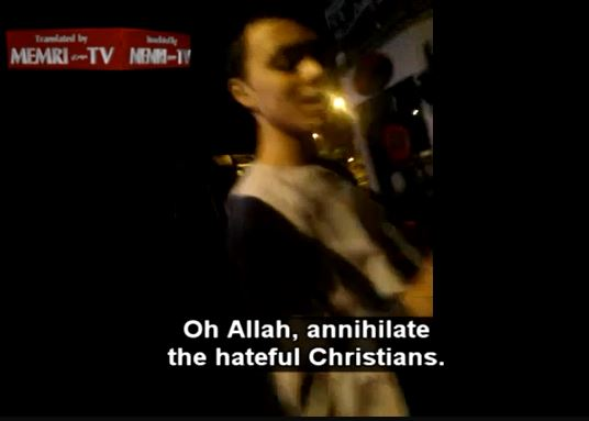 belgium muslim chants death to christians