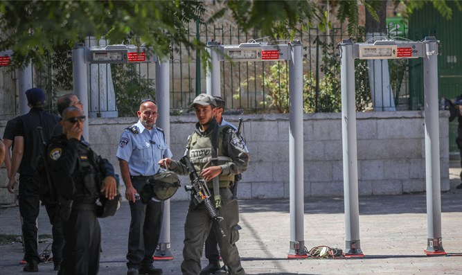 Jew Detector: Israel: Metal Detectors On Temple Mount Are There To Stay